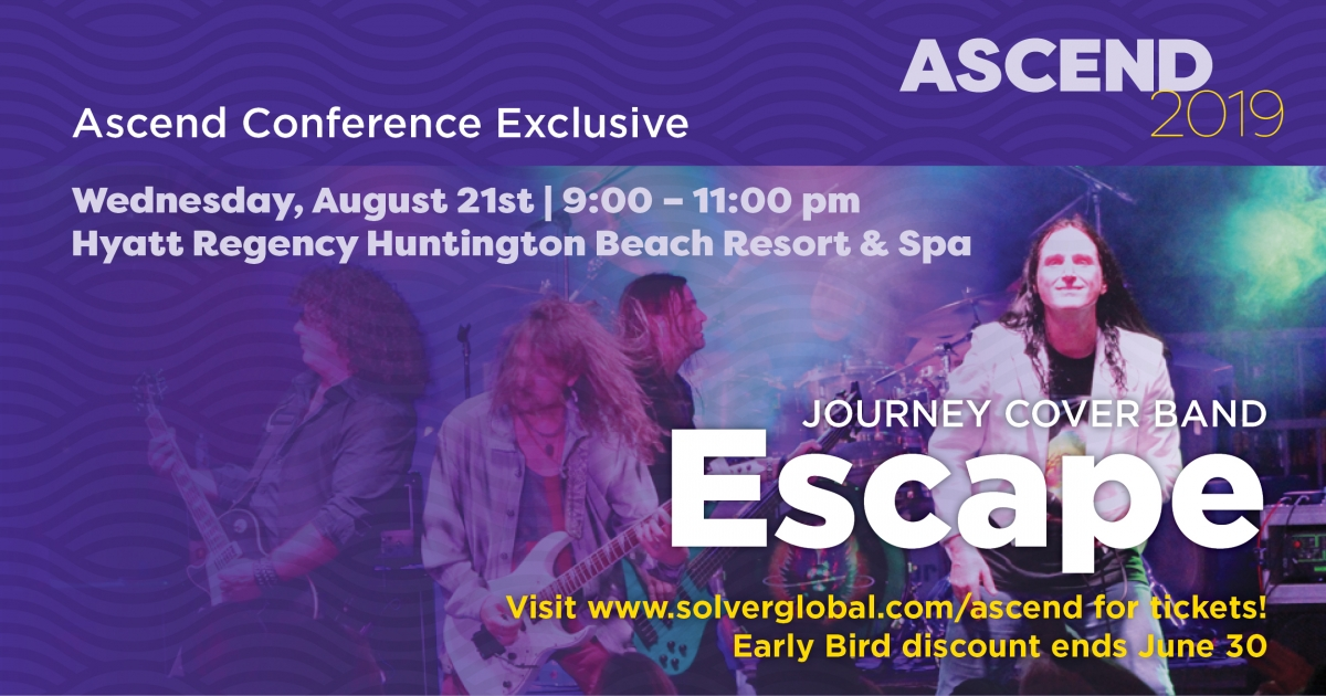 journey band at ascend 2019 #bi360con