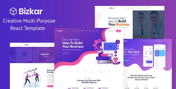 Creative Multi-Purpose template