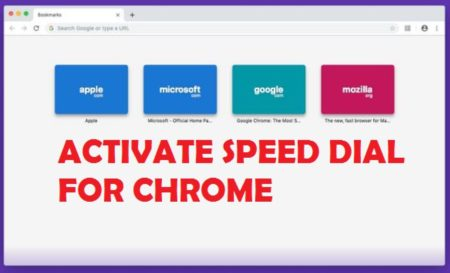 Activate Speed Dial for Chrome