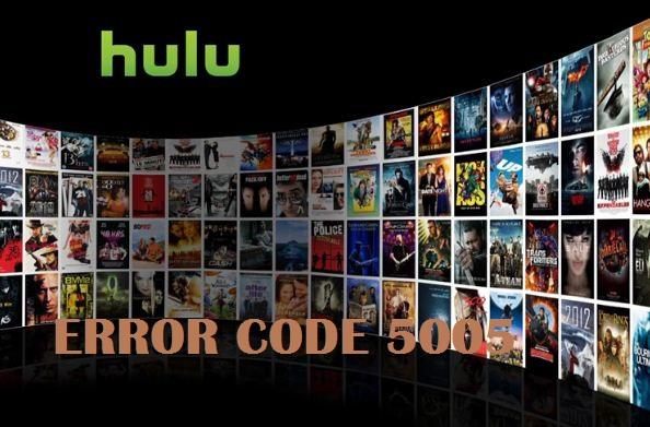 Hulu Error Code 5005