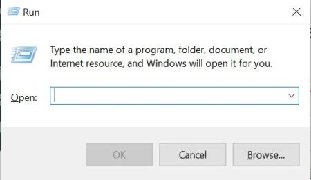 Windows 10 Dialog Box