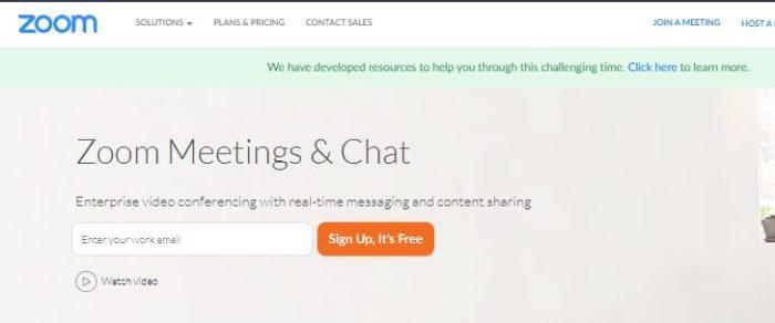 Zoom Meeting App Free