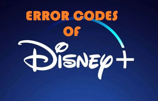 Disney Plus Error Codes