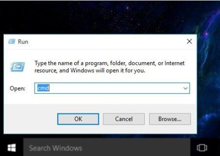Open Command Prompt in Windows 10