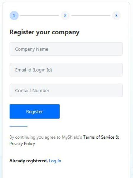 Register to MyShield