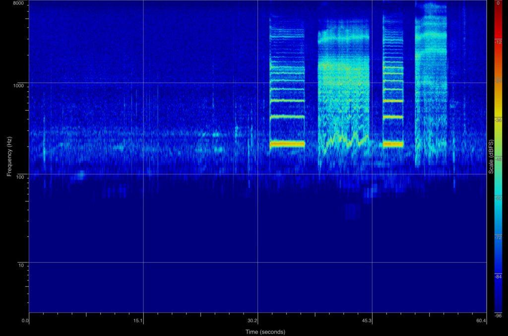 spektrogram lyd stoy