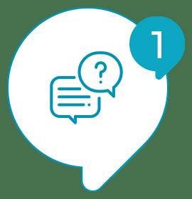 Solvis - Ícone - Como Funciona? - 001 - Você realiza o atendimento ao seu cliente;