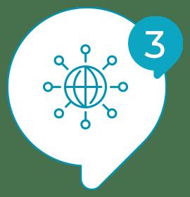 Solvis - Ícone - Como Funciona? - 003 - As respostas são enviadas automaticamente para o nosso sistema;