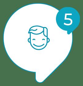 Solvis - Ícone - Como Funciona? - 005 - Você usa os resultados para melhorar experiência do seu cliente