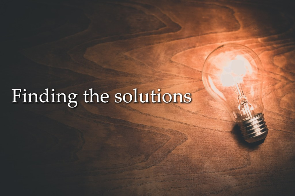 finding the solutions
