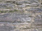 Cross-bedded sandstone blocks