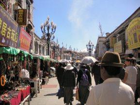 Barkhor Market at Jokhang Temple - Tibet