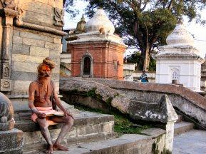 Pashupati holy man - Nepal