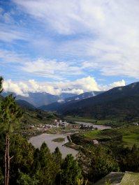 Bhutan countryside