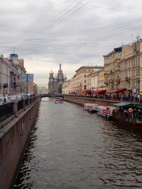 Canal leading to Church of Our Savior on Spilled Blood