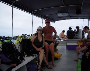 On the dive boat-Palau - Version 2