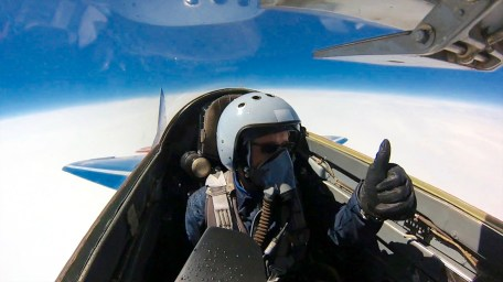 At 55,000ft doing Mach 1.7! What a blast!