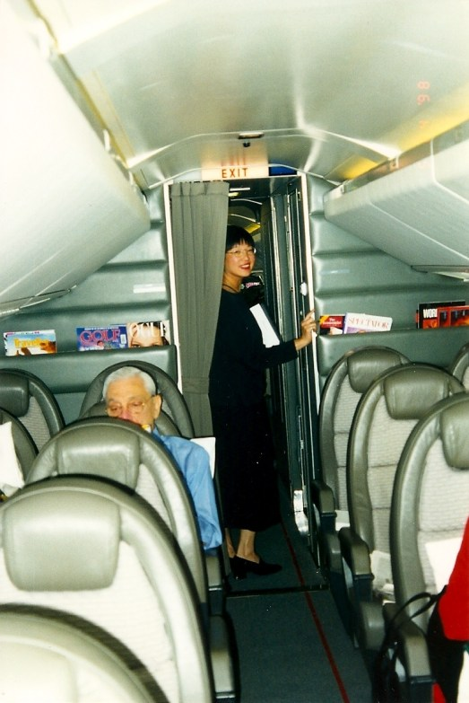 Inside the Concorde