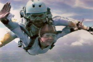 Diana skydiving