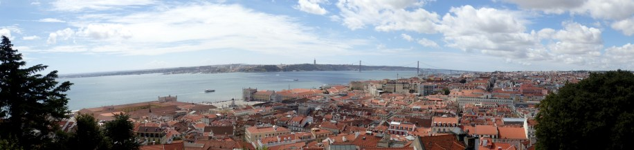 View of Lisbon from Castelo de Sao Jorge