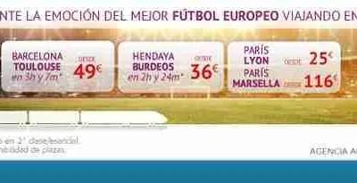 SNCF – Siente la emoción del mejor fútbol europeo viajando en alta velocidad
