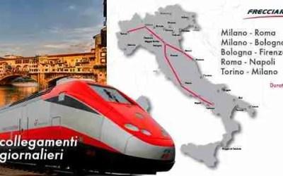 Trenitalia ¡Súbete al tren! Los mejores precios para recorrer Italia