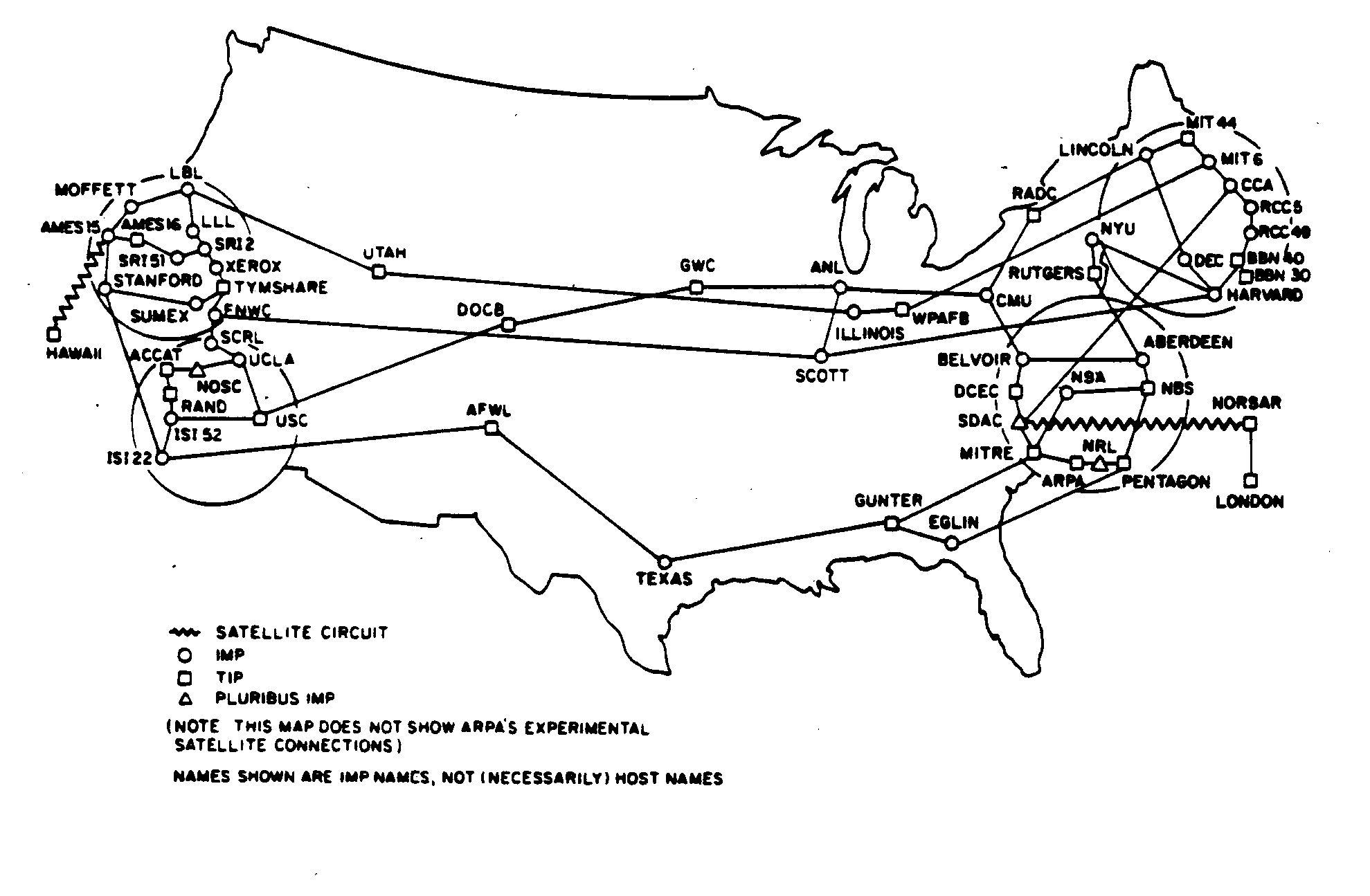 ARPANET Maps