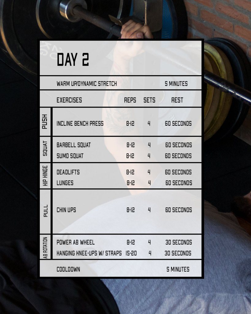 compound workout 2 for muscle growth