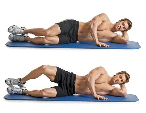 glutes exercise- clamshell