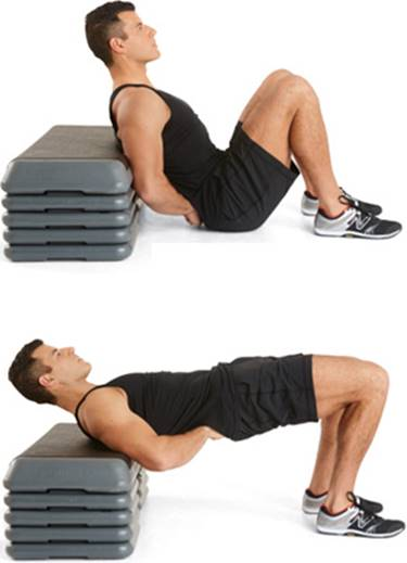glutes exercise- hip thrusts