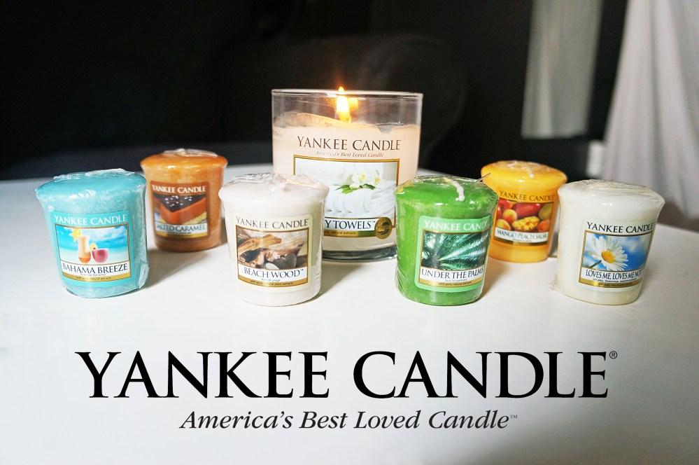 Découverte des bougies Yankee Candle (1/6)