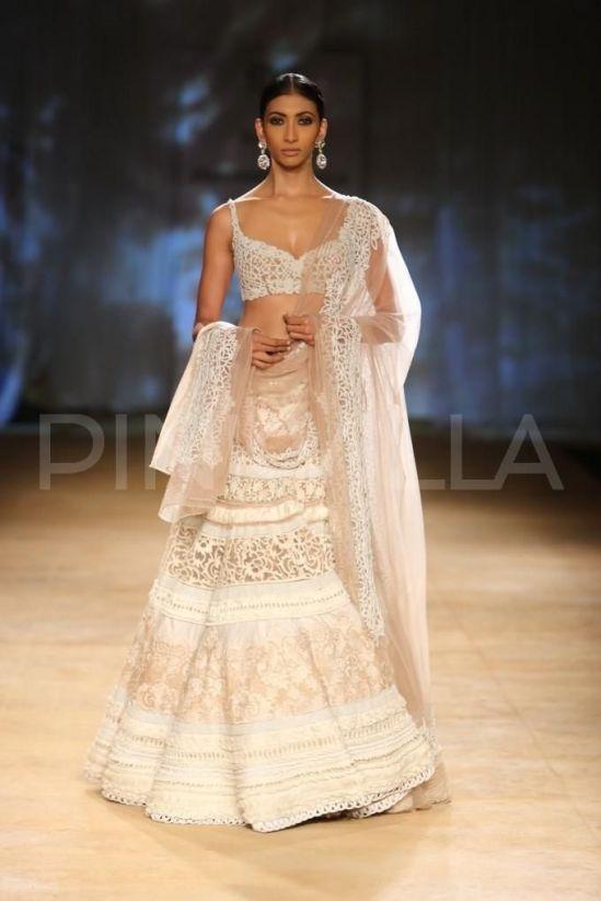 Soma Sengupta Indian Bridal So Modern White Indian