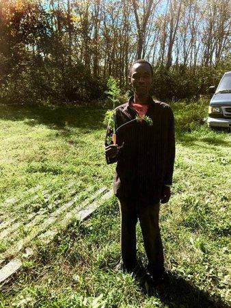 Abdi, a farmer with Liberation Farms