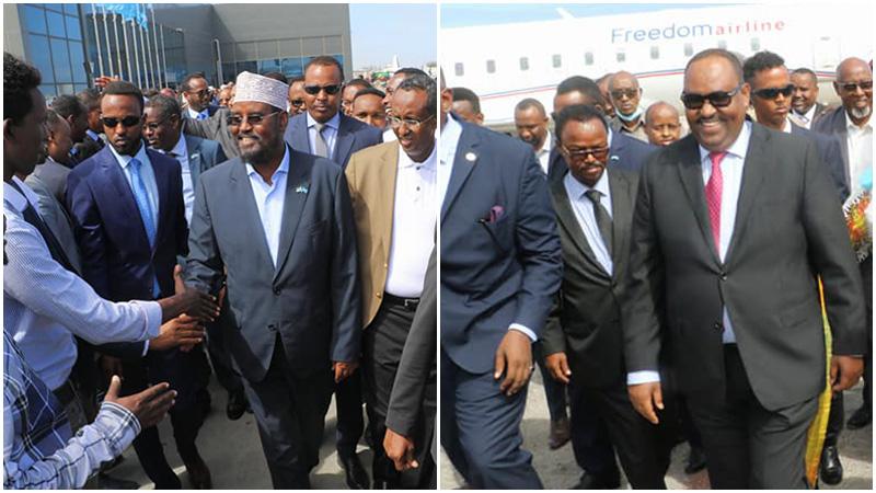 Somalia's Puntland and Jubaland Leaders