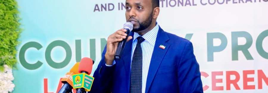 acting foreign affairs minister of the republic of somaliland Mr. Liban Yusuf
