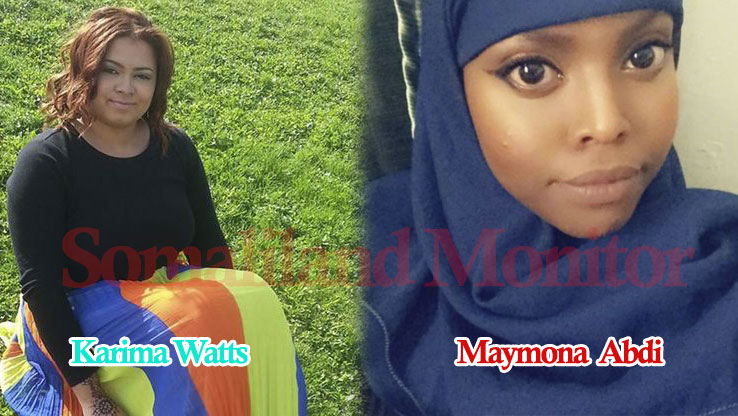 Karima Watts (Left) and Maymona Abdi