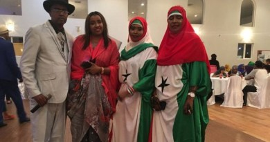 Somaliland Independence Day celebration organizer Abdullahi Mohamed at the 2018 celebration in Edmonton