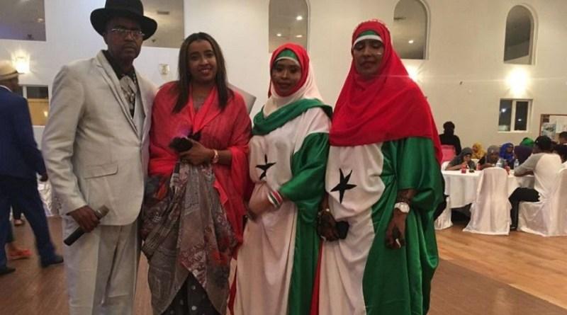 Somaliland Independence Day celebration organizer Abdullahi Mohamed at the 2018 celebration in Edmonton