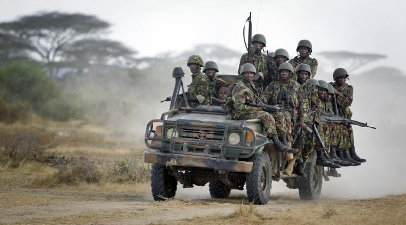 kenyan troops