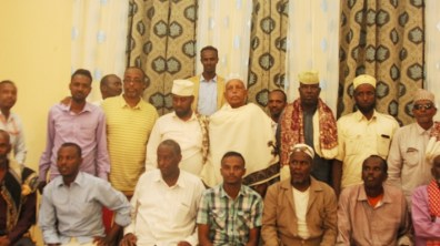 Sultan Kaise Badde Abdulle welcome ceremony 5