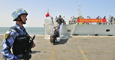 chinese military base in Djibouti