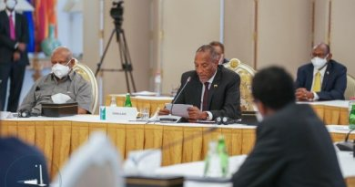President Bihi Addresses the Consultation Summit on Relations between Somaliland and Somalia in Djibouti
