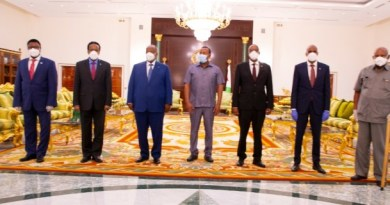 Somaliland and Somalia Talks Group Photo