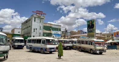 Down of Hargeisa, The capital city of the republic of Somaliland