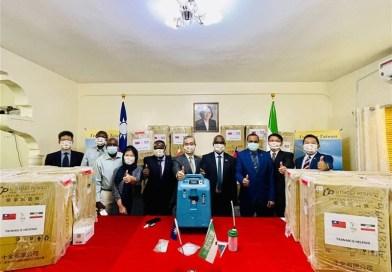Somaliland Receives Taiwan-Donated Oxygen Generators