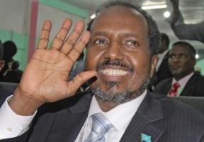Hassan Sheikh Mohamud Somalia President