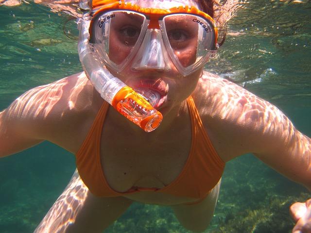 snorkelling photo