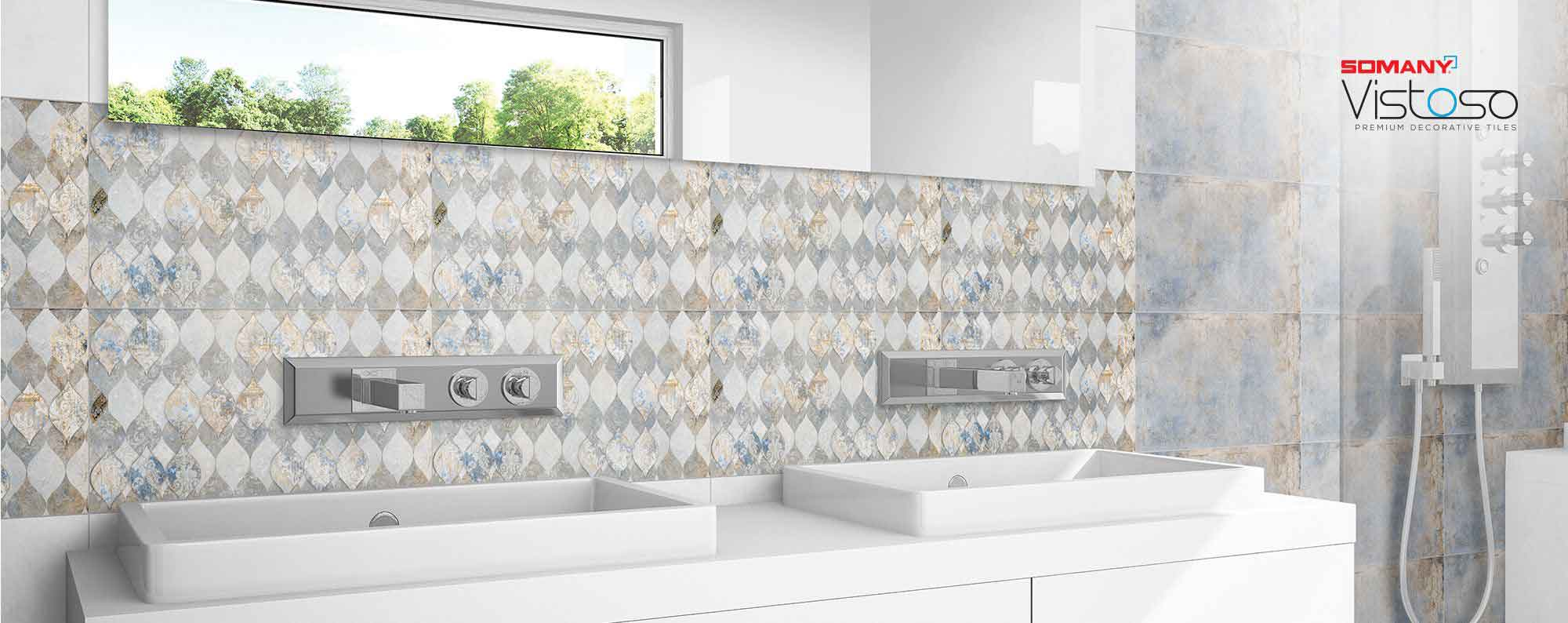 Bathroom Tile Gallery Largest Collection Of Ceramic Wall Tiles Design In India Somany