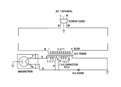 Microwave Capacitor Diagram