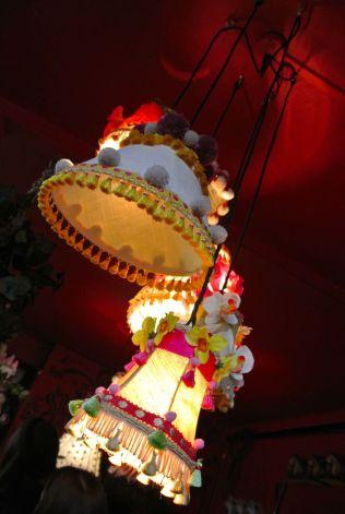 Pretty lampshades